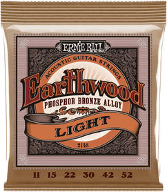 Ernie Ball EB 2148 Phos. Bronze Light struny do gitary akustycznej 011-052