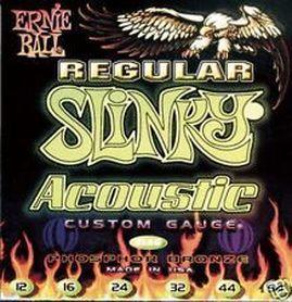 Ernie Ball EB 2153 12 String Slinky P/B Acoustic struny do gitary akustycznej 12 strunowej 9-46