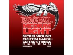 Ernie Ball EB 2206 Custom Medium Light struny do gitary elektrycznej 12-54