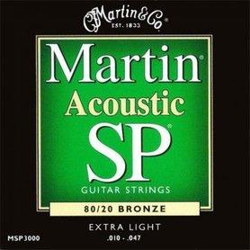 Martin MSP3000 10-47 Studio Performance struny do gitary akustycznej