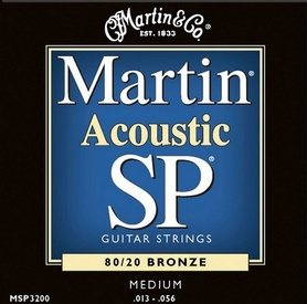 Martin MSP3200 Medium Gauge Studio Performance struny do gitary akustycznej