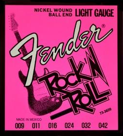 Fender 3020 Rock N Roll Light 9-42 struny do gitary elektrycznej