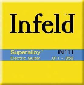 Infeld IN111 Superalloy Round Wound struny do gitary elektrycznej 11-52
