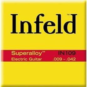 Infeld IN109 Superalloy Round Wound struny do gitary elektrycznej 9-42