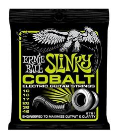 Ernie Ball EB 2721 Slinky Cobalt Struny Do Gitary Elektrycznej 10-46