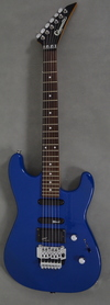 Charvette by Charvel Jackson MIJ Blue Gitara Elektryczna