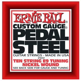 Ernie Ball 10-String E9 Pedal Steel Guitar Strings
