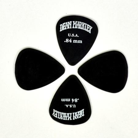 Dean Markley DMP84 0.84mm Black Plectra kostki 10 sztuk