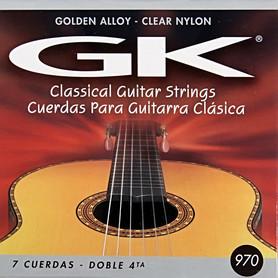 Struny do gitary klasycznej • Struny przeznaczone dla osób początkujących • W niskiej cenie otrzymujemy struny o wysokim standardzie i dobrej jakości • Struny E1, B2, G3 - przeźroczysty nylon • Struny D4, A5, E6 - złota owijka • Dodatkowo w zestawie strun