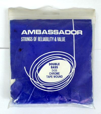 Ambassador S436 double bass strings