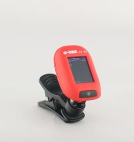 U-ONE CT-99 RD mini clip digital tuner stroik chromatyczny czerwony