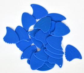 Landstrom 10H Sharkfin Plectra-Blue/Hard (Skunk) kostki 1 sztuka