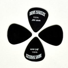 Dean Markley DMP84 0.84mm Black Plectra kostki 1 sztuk