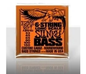 Ernie Ball EB 2838 Long Scale Slinky Bass 6 Struny Do Gitary Basowej 6-strunowej 32-130