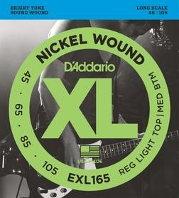 D'ADDARIO EXL165 struny do gitary basowej