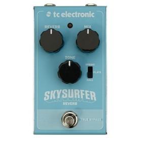 Skysurfer Reverb - reverb gitarowy klasy studyjnej ze słynnym algorytmem TC Electronic.  Skysurfer Reverb to idealne rozwiązanie na wszystkie Twoje pogłosowe potrzeby. Nieważne czy chcesz zanurkować w głębokim oceanie czy też surfować po falach ambientu p
