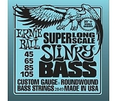 Ernie Ball EB 2849 Super Long Scale Slinky Bass struny do gitary basowej