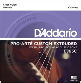 DADDARIO EJ65C struny do ukulele koncertowego