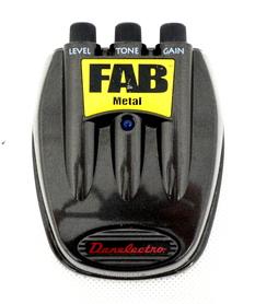 Danelectro D-3 FAB Metal przester gitarowy