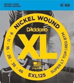 DADDARIO EXL125 9-46 struny do gitary elektrycznej