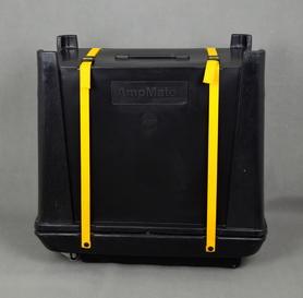 AmpMate Hardcase case na wzmacniacz typu Combo z kółkami