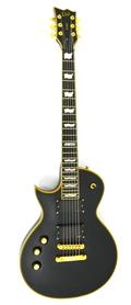 ESP LTD EC-1000 Deluxe Black LH Gitara Elektryczna