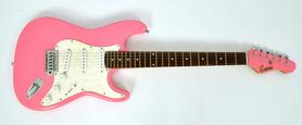 Encore Gitara Elektryczna Pink