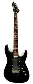 ESP LTD KH-202 EMG BLACK Gitara Elektryczna