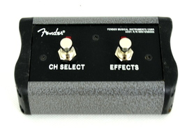 Fender 2 Button Footswitch Channel Select Effects