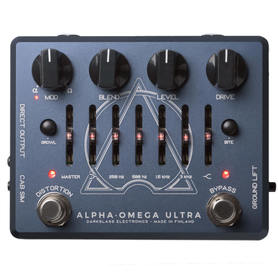 Darkglass Alpha Omega Ultra basowy preamp distortion