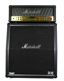 Marshall Fm 350 Mode Four Head + Marshall Fm 450 A Kolumna Gitarowa