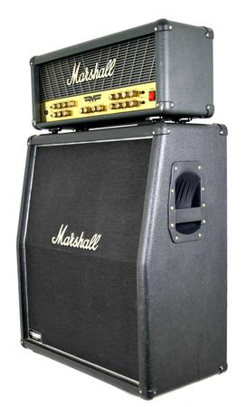Marshall MF350 Mode Four Head + Marshall MF450 A Kolumna Gitarowa