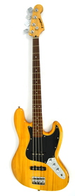 Westfield Jazz Bass Natural Gitara Basowa