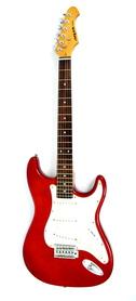 Aria STG Series  Metalic Red Gitara Elektryczna