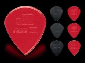 Dunlop Jazz III black kostka gitarowa czarna