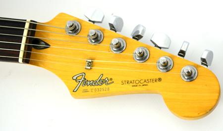 Fender Stratocaster Black MIJ Japan Gitara Elektryczna