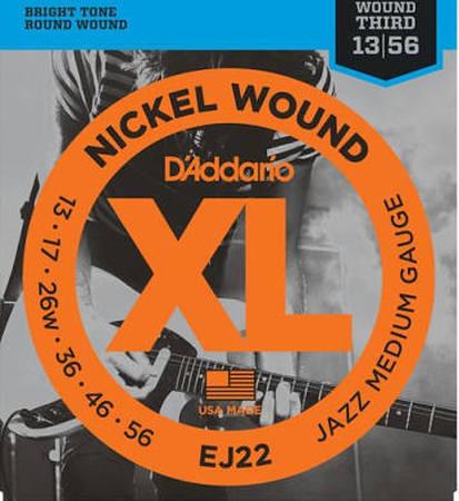 D'Addario EJ22 Electric Guitar Strings 13 - 56
