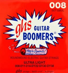 GHS GBUL Ultra Light struny do gitary elektrycznej 8-38