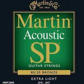 Martin MSP-3000 Bronze 10-47 Struny do git.