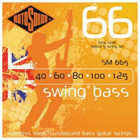 Rotosound RS 655 LC 5 struny do gitary basowej 40-125