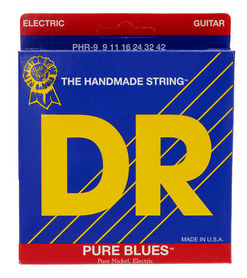 DR PHR-9 Pure Blues Pure Round Core Electric Guitar
