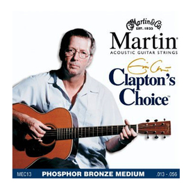 Martin Acoustic Eric Clapton Signature Phosphor Bronze Medium 13-56