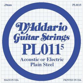Struna do gitary akustycznej/elektr DADDARIO PL0115 Single