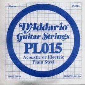 Struna do gitary akustycznej/elektr DADDARIO PL015 Single