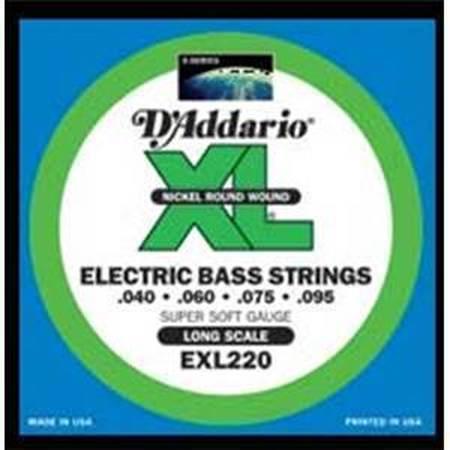 D'Addario EXL220 40-95