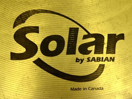 Solar By Sabian Crash 16