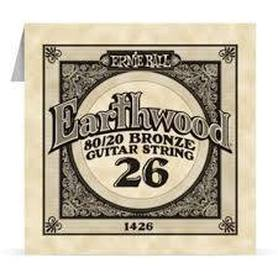 Ernie Ball Earthwood 1426 80/20 Bronze Acoustic Guitar Single 26