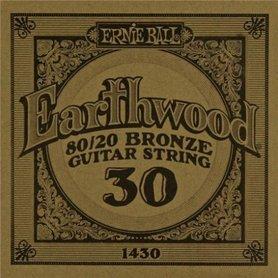 Ernie Ball Earthwood 1430 80/20 Bronze Acoustic Guitar Single 30