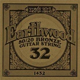 Ernie Ball Earthwood 1432 80/20 Bronze Acoustic Guitar Single 32