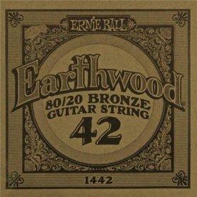 Ernie Ball Earthwood 1442 80/20 Bronze Acoustic Guitar Single 42